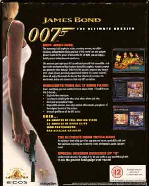 The Ultimate James Bond An Interactive Dossier PC 2 CD s