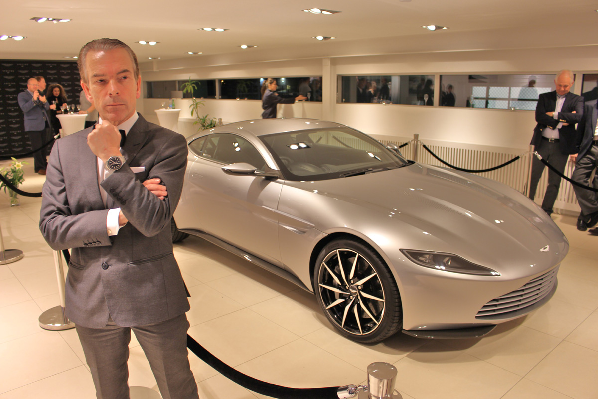 Spectre Aston Martin Db 10 From The Movie Driven By James Bond Daniel Craig In Rom
