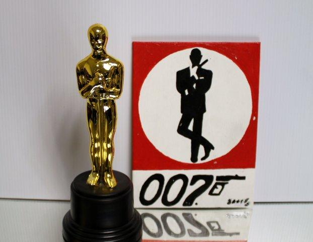 Oscar Statue 007 James Bond From James Bond 007 Museum Nybro Sweden